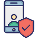 Mobile Account Security Icon