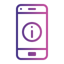 Mobile App Information Icon
