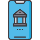Mobile Banking Mcommerce Net Banking Icon