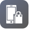 Mobile Carry Bag Icon