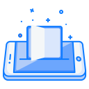 Mobile Concept Book Icon