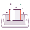 Mobile Concept Book Icon