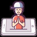 Mobile Concept Smile Icon