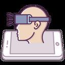 Mobile Concept Vr Icon
