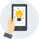 Mobile Hand Innovation Icon