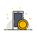 Mobile Money Currency Icon