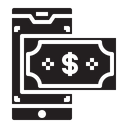 Pay Mobile Finance Icon