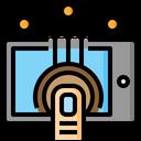 Touchscreen Tablet Ui Icon