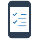 Checklist Mobile Testing Quastionnaire Icon