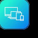 Mobile Tab Laptop Icon