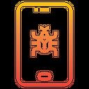 Mobile Virus Icon