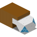 Modern Building Icon