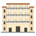 Modern Building Commercial Building Architecture Icon