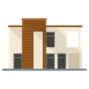 Modern House Home Homestead Icon