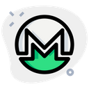 Monero Technology Logo Social Media Logo Icon