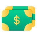 Money Dollar Finance Icon
