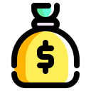 Money Bag Dollar Symbol Currency Icon