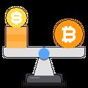 Balance Coin Money Icon