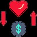 Money Changing Mind Icon