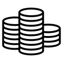 Cash Coin Finance Icon