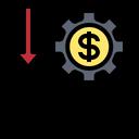 Money Depreciation Icon