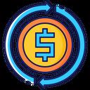 Money exchange rate Icon