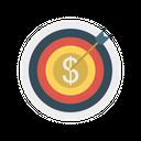 Target Dollar Focus Icon
