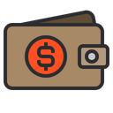 Wallet Money Seo Icon