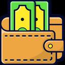 Cash Wallet Wallet Money Wallet Icon