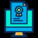 Monitor Certificate Icon