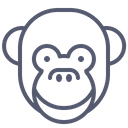 Monkey Smile Icon