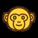 Monkey Cute Baby Icon