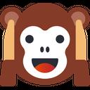 Monkey Smiley Avatar Icon