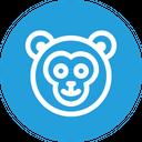 Monkey Face Animal Icon