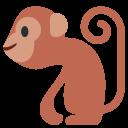 Monkey Primate Tail Icon