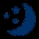 Moon Night Star Icon