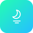 Moon Moonset Sea Icon
