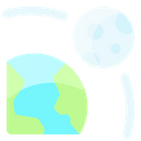 Moon Orbit Icon