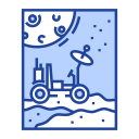 Rover Moon Research Icon