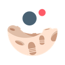 Moon Surface Icon