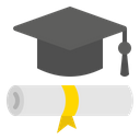 Mortarboard Education Graduation Icon