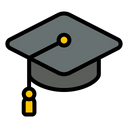 Mortarboard College Hat Icon
