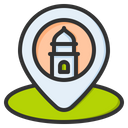 Location Pin Direction Icon