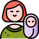 Mother Woman Love Icon