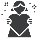 Mother love Icon