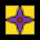 Motif Texture Design Icon