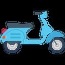 Motorbike Motorcycle Retro Motorcycle Icon