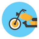 Motorbike Motorcycle Transportation Icon