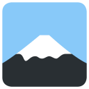 Mount Fuji Place Icon