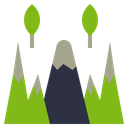 Mountain Location Mount Icon